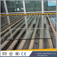 4, 5, 6, 8, 10, 12, 15, 19mm clear and colored tempered safety glass for building