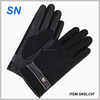 hot new products for pu leather winter man glove wholesale