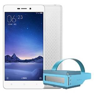 Android 5.1 Redmi 3 2+16GB Silver color + Focalmax Accordion 3D Glasses VR Bule color Combo 4G LTE Dual Sim Android 5.1 Octa Core 5.0 inch HD 5+13MP
