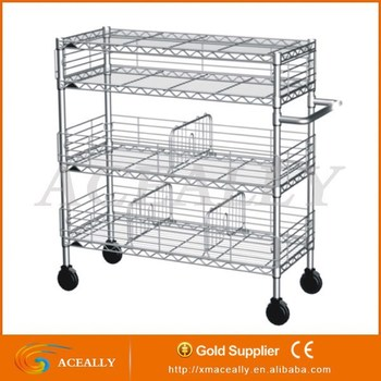 Light Duty Stainless Adjustable Modular Wire Shelving, View Light ...