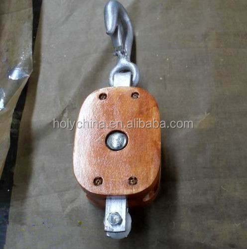 hot sale high quality wood pulley