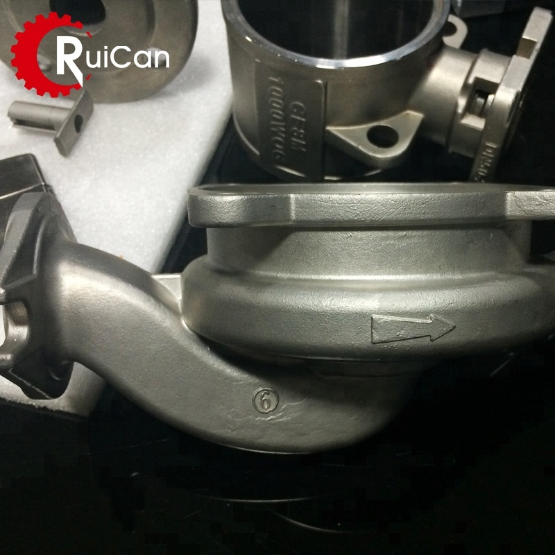 OEM customized carbon 316 stainless steel investment casting aluminum vacuum alloys method shell types parts