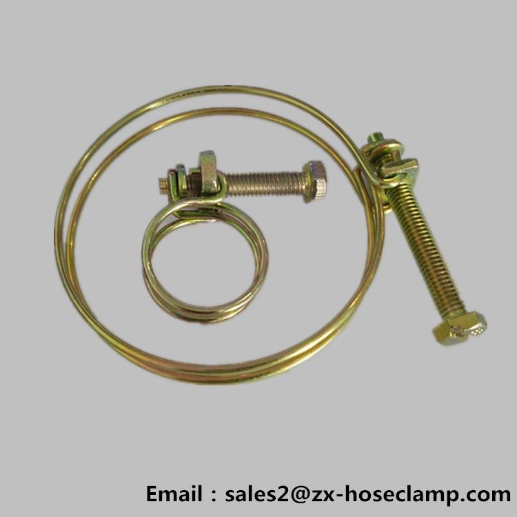 Double wire hose clamp vacuum clamps automotive buy