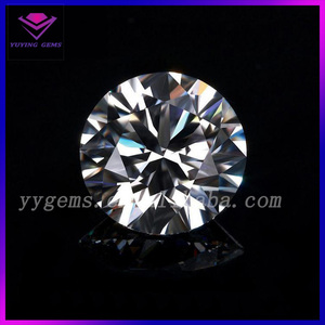 Excellent Grade Forever Brilliant Various Size White Round Cut China Moissanite