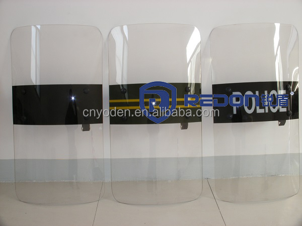 Hot selling PC police anti riot shield for riot control
