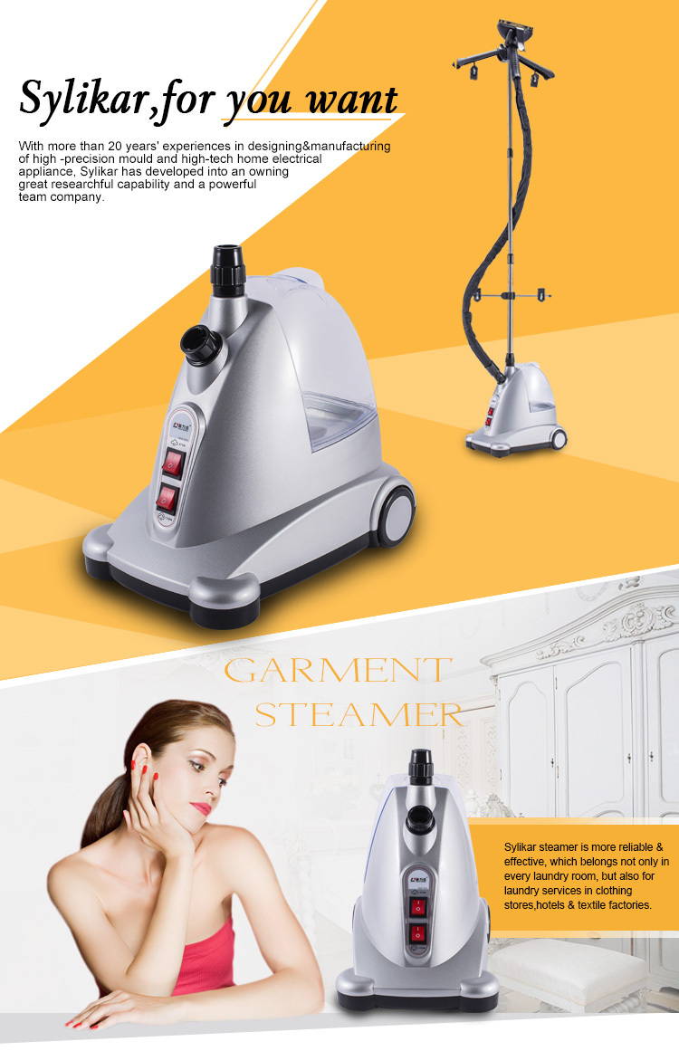3.2L 1750W Super water tank,automatic cloth ironing machine,standing steam iron