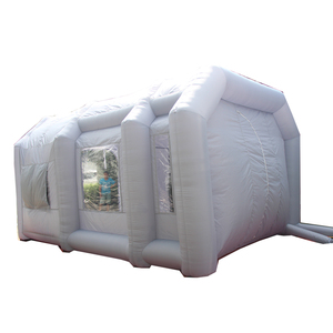 China most popular industrial inflatable car paint booth design for sale