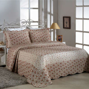 Orange And White Bedding Set