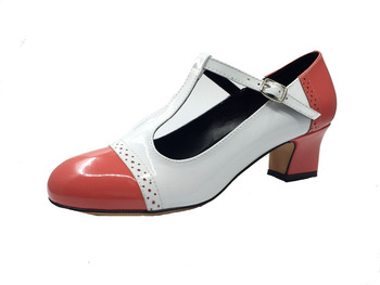 Round Toe Woman Character Dance Shoes T