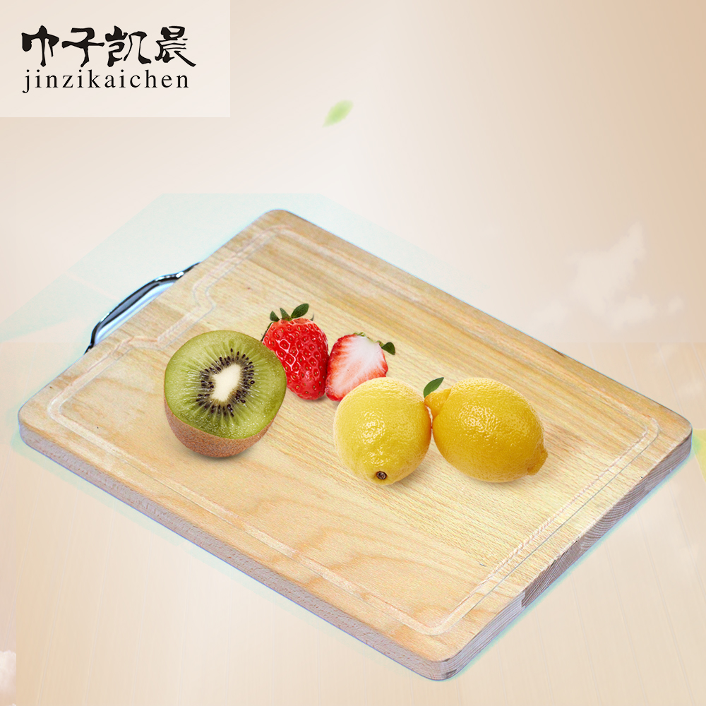 Hot Sale Natural Beech Custom Shaped Wood Cutting Board For Kitchen