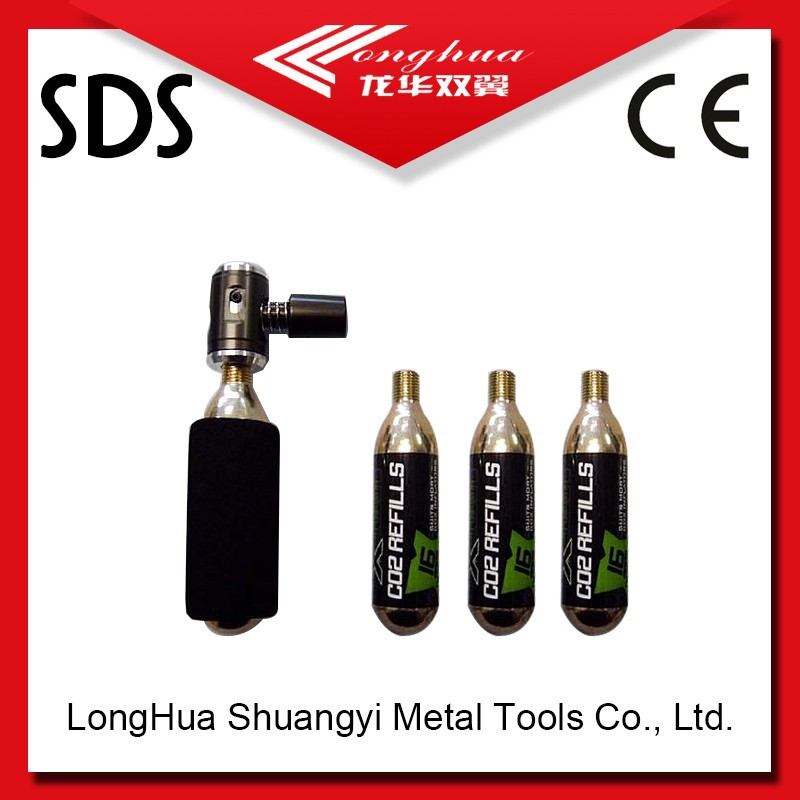 16g CO2 Cylinder/cartridge co2 tire inflators