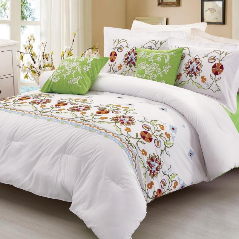 KOSMOS Bedding King Size dubai luxury wedding bed linen Polyester bed Comforter Set