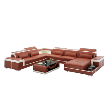 American Style Fashion Sofa Set Living Room 7 Seat Solid Wood Leather Sofa  Set/contemporary Sofa Sets/design Furniture - Buy Leather Sofa ...