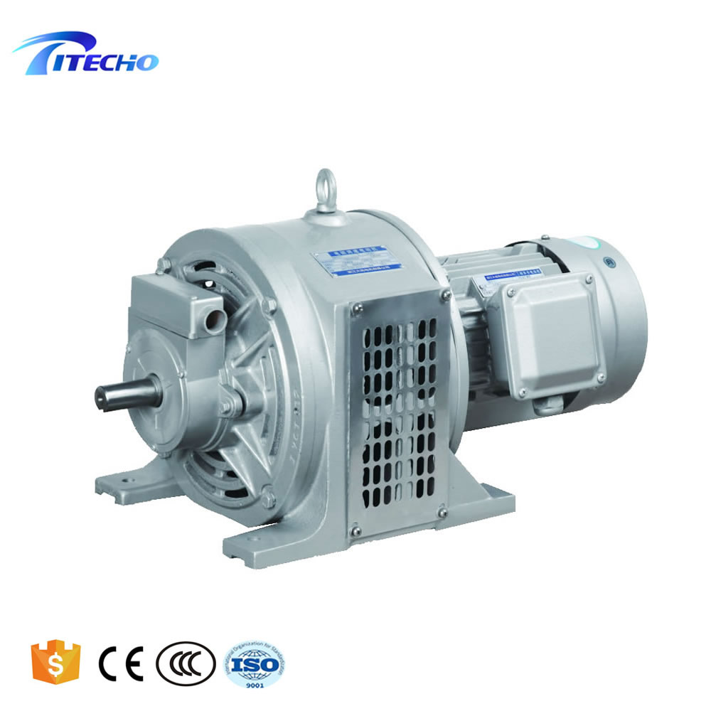 YCT Series Adjustable Speed Electromagnetic Motor With Speed Controller