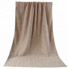 Cotton towel bath and beach used towel, large size Light brown pool towel bulk wholesale