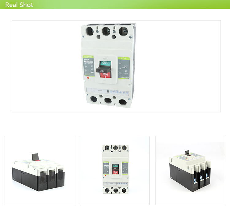 Electrical Symbol Circuit Breaker Overload Nf Type250a 400a Mccb