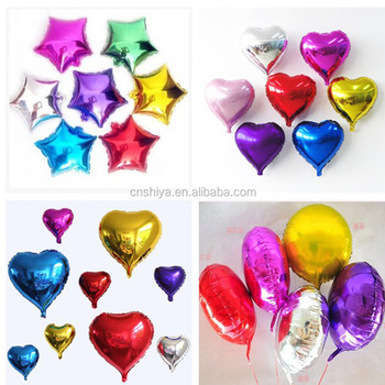 18inch Party Balloons Helium Marriage Decoration Gold Silver Pink Blue Letter Round