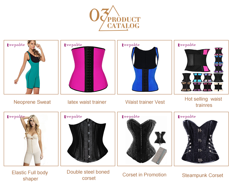b12f54a2821 Amazon Hot Selling 100% Latex Weight Loss Colombianas Perfect Full Women  Body Shaper