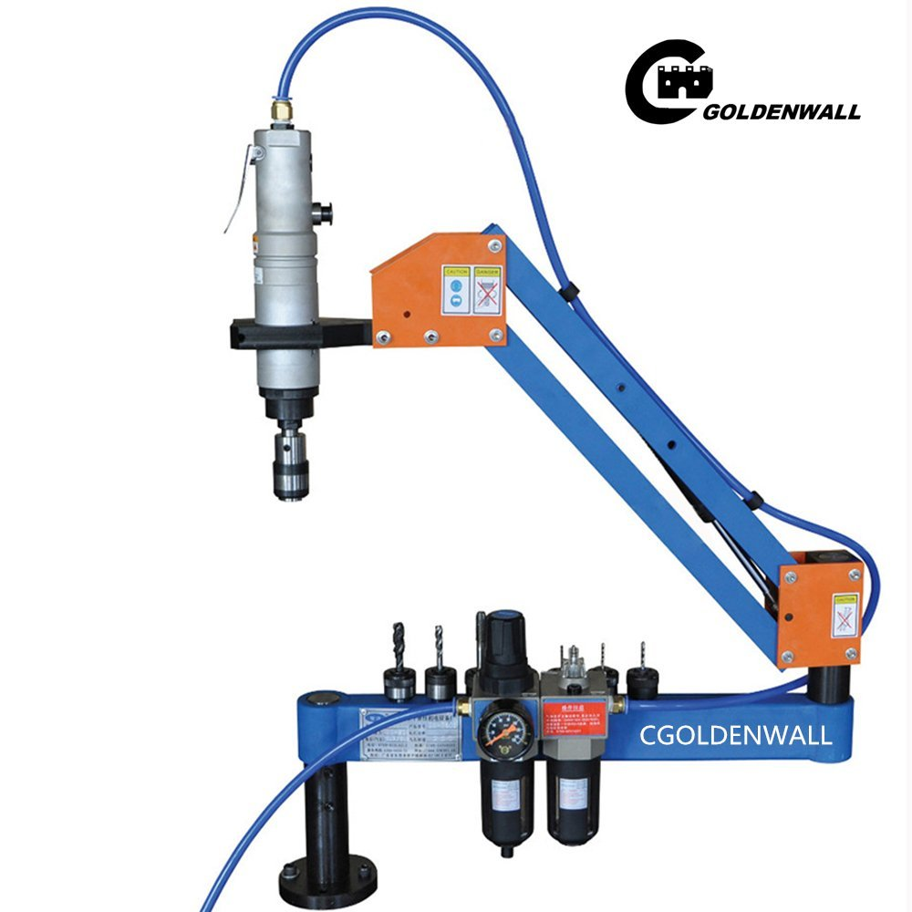 M3-M16 Automatic Pneumatic Tapping Machine Air Tapper Tool With Working Reach 1000MM (JIS CHUCKS)