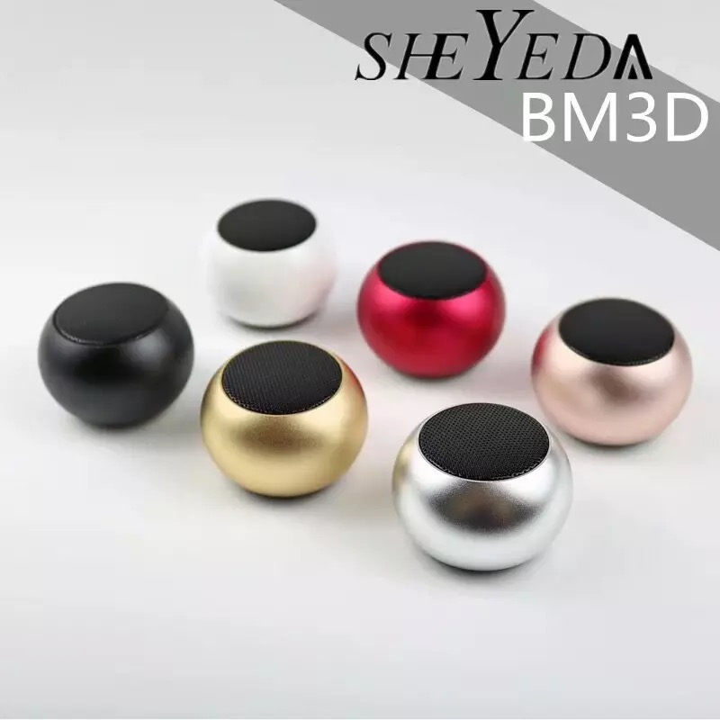 New product roundness bluetooth speaker super mini portable pink speaker