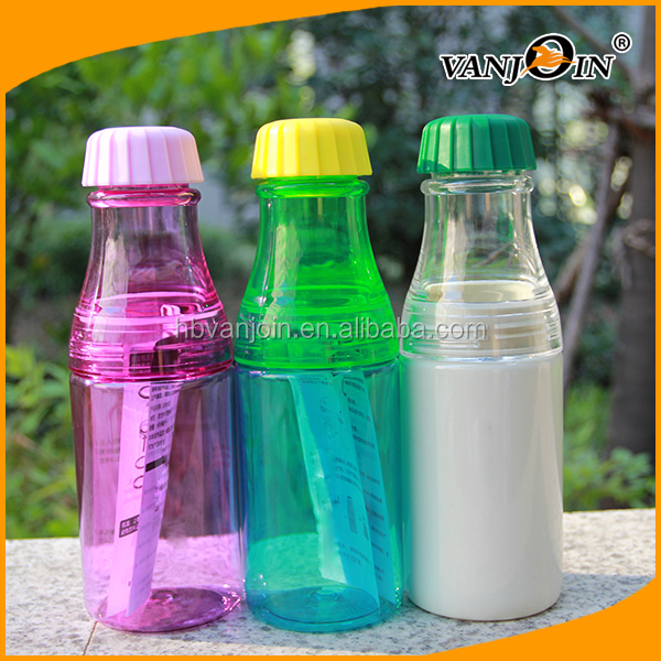 Bpa Free Plastic Cheap Reusable Water Bottles In Different ...
