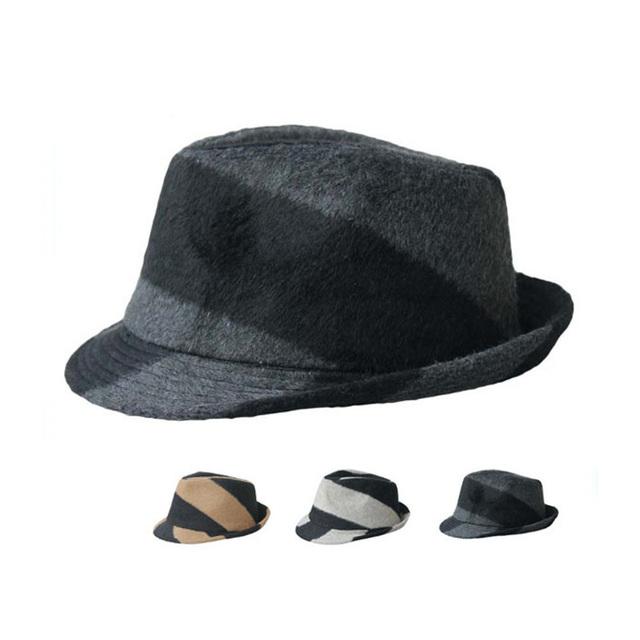 Crushable tacaño BRIM venta a granel fieltro de lana mujeres sombrero fedora 3f4724f0fb9