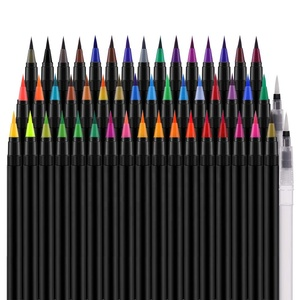 amazon hot sale water based ink watercolor brush pens set