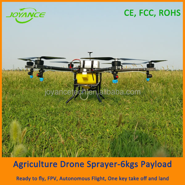 RTF, UAV type and New condition recharge battery agricultural drones uav sprayer
