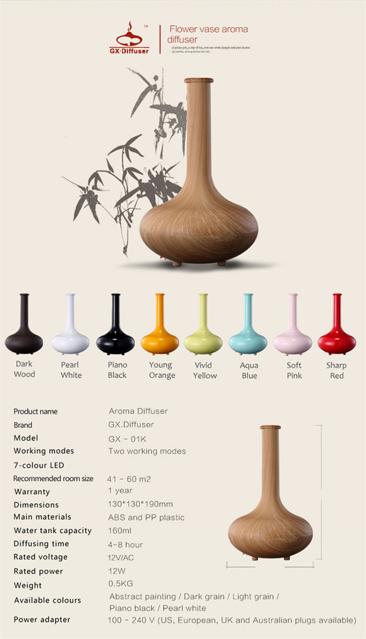 2019 best stylish perfume scenting ultrasonic aromatherapy nebulizer air humidifier aroma nebulizing diffuser for essential oils