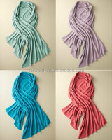 Fashion colorful 100% cashmere knitted shawl, 100% cashmere wrap