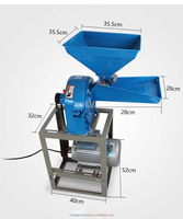 Corn maize meal milling machine/corn miller