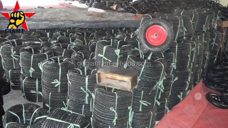 Pneumatic wheel 3.25-8 used in wheelbarrow tyre