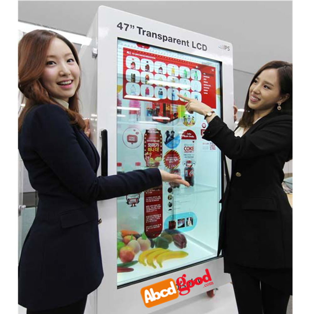 Touch Screen Vending Machine With Transparent Lcd Display Monitor ...