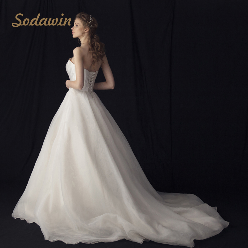 Long Romance Modest Real Dropship Wedding Dress Product