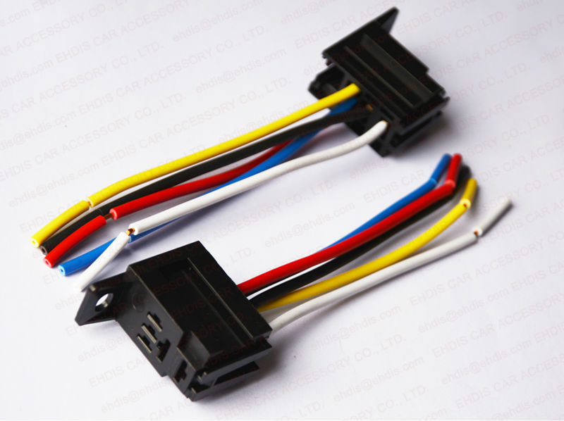 C36 Violet Auto Relay Socket 12v 24v 5 Pin Relay Socket Buy Relay