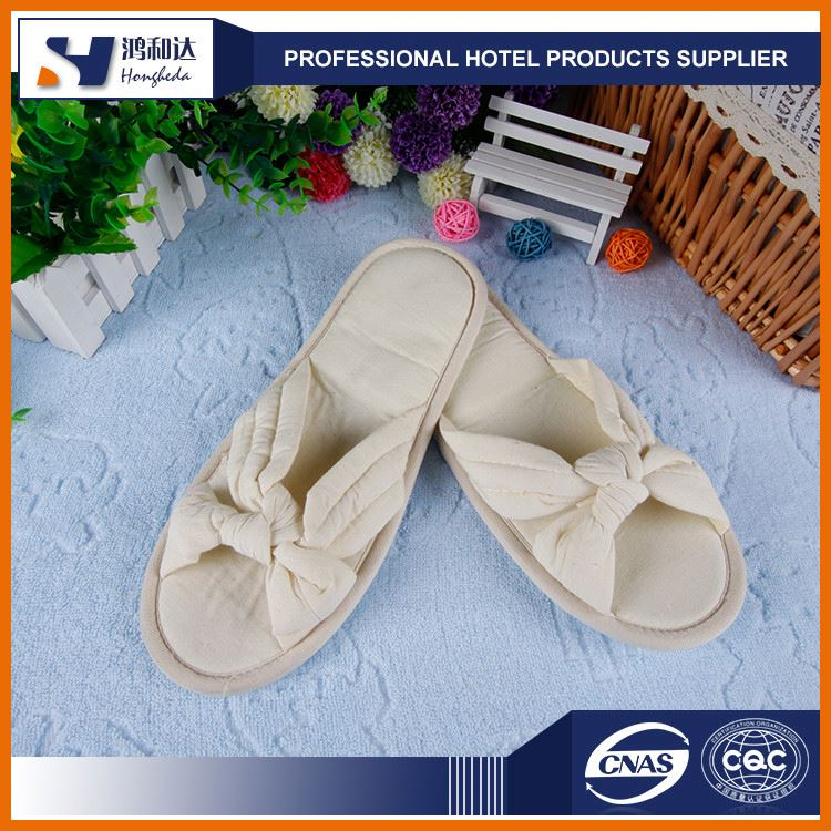 Hot sale discount anti-slip hotel bedroom slippers