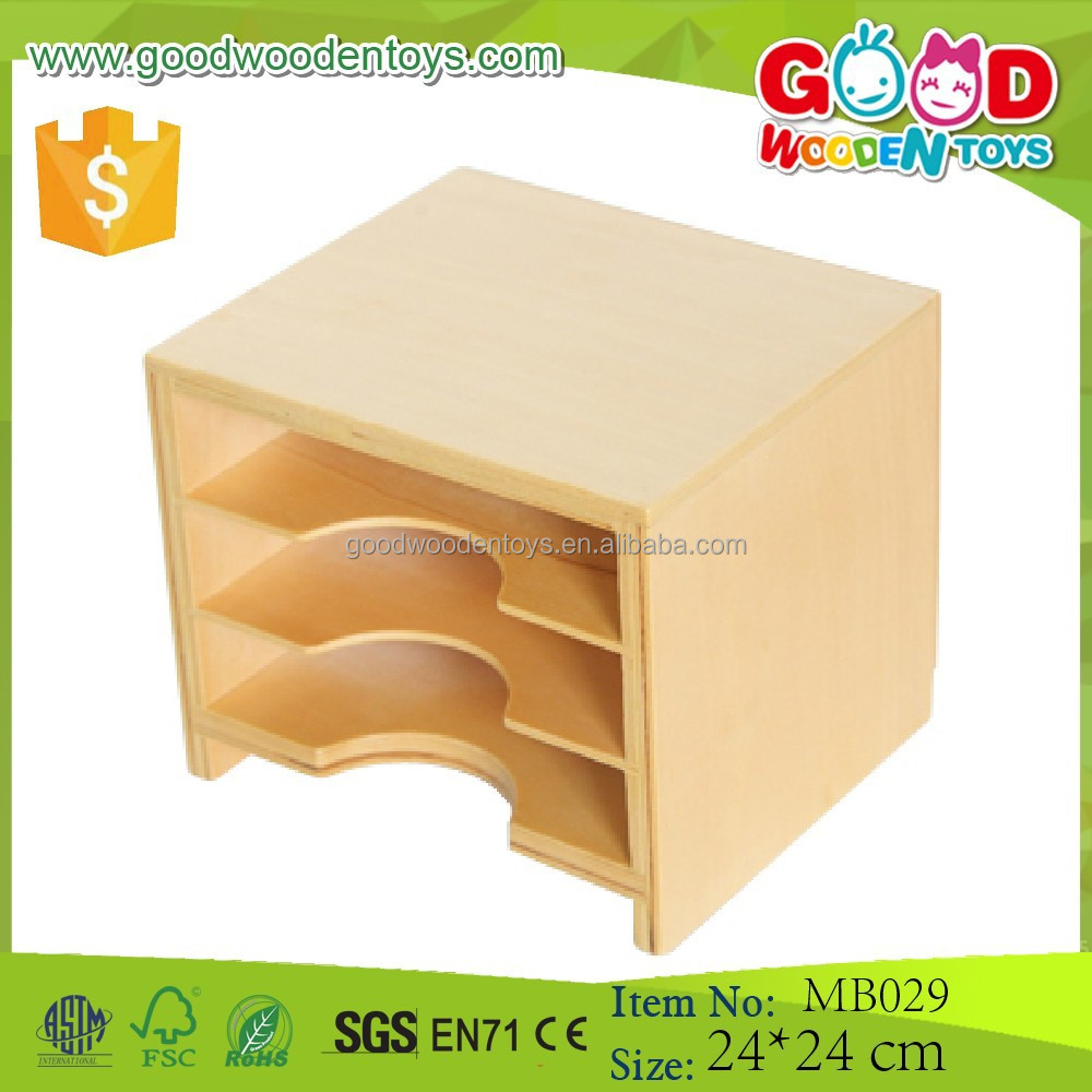 Baby Infant Toys Geometric Card Cabinet Promotional Toys for Kids Educational Wooden Puzzle