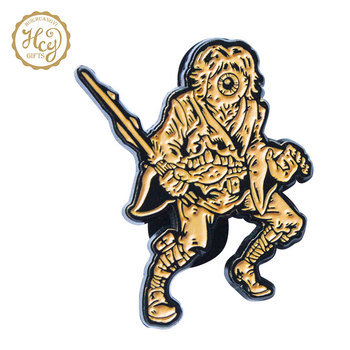 High Quality Custom Cartoon Design 3D Cheap Badge Pins