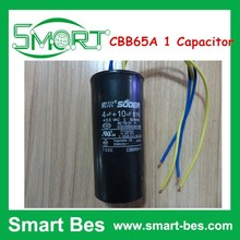 Smart bes Washing Machine Capacitor CBB65A-1 4UF+10UF 450V 90*40mm CBB65 Capacitor, CBB65A 1 Capacitor
