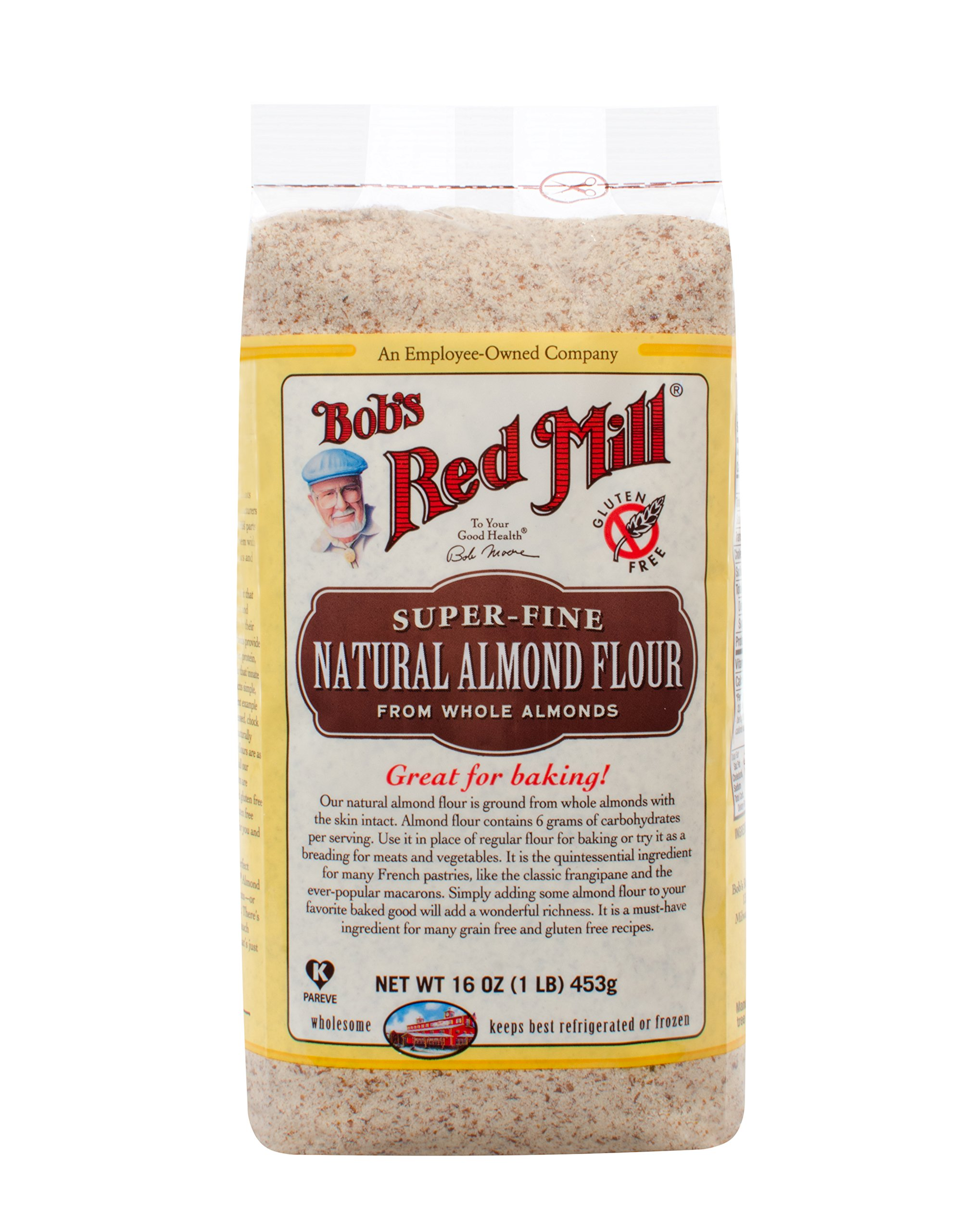 Bob's Red Mill Super-Fine Natural Almond Flour, 16-ounce