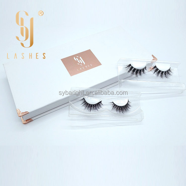 Sylashes Custom 3D Nerz Wimpernverpackung
