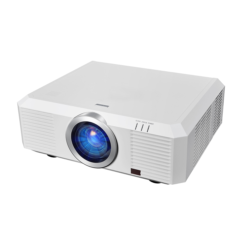 WU7000 Professional Outdoor Advertising Projector with 1920*1200p 10000 Lumens 5000:1 Support 3D Mapping Projector