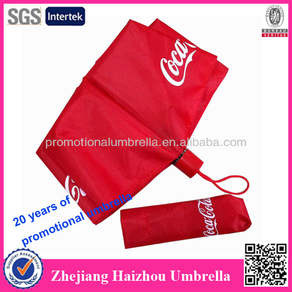 3 folding umbrella, manu open fold umbrella