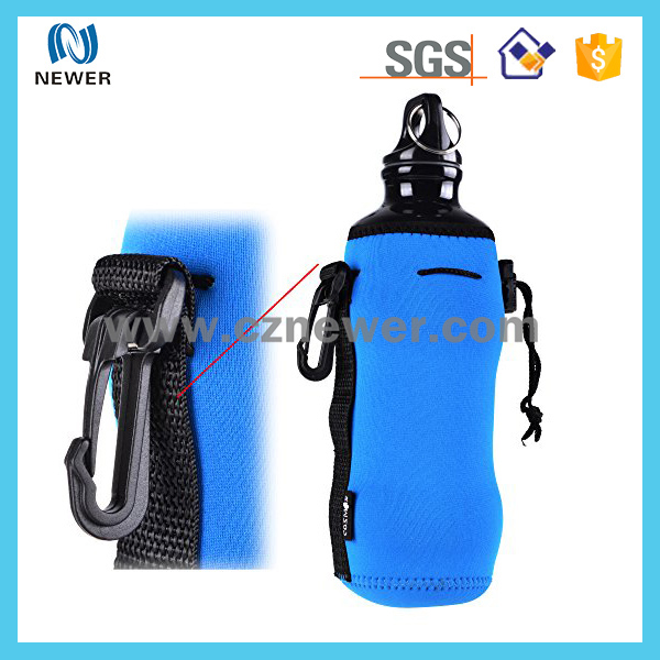 Ultra-portable waterproof good quality neoprene picnic water bottle carrier