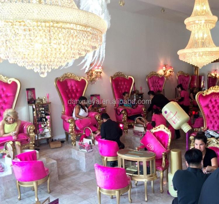 Luxury European Style Nail Salon Furniture Manicure Nail Table - Buy ...