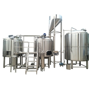 2000L Micro Brewery Equipment turnkey steam beer brewing system
