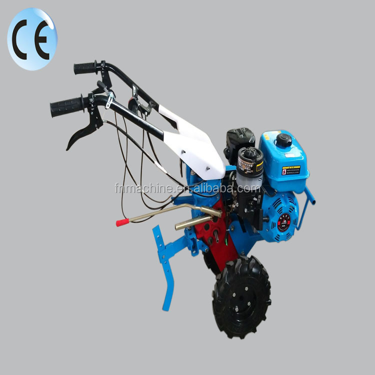Mini hand push 7.5HP agricultural rotavator