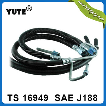 manufacture nissan smooth power steering pump hoses with sae j188