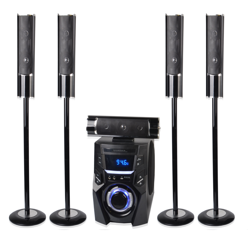 Newest product 5.1ch home theater system speaker dj bass speakers box
