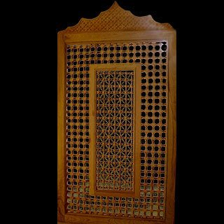 moucharabieh bois crans buy product on. Black Bedroom Furniture Sets. Home Design Ideas